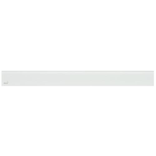 ALCAPLAST GLASS - Designový rošt pro APZ6 - sklo bílé (GL1200-550)