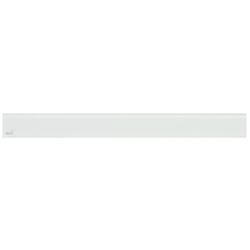 ALCAPLAST GLASS - Designový rošt pro APZ6 - sklo bílé (GL1200-750)