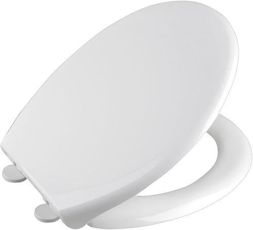Aqualine SOFIA WC sedátko, Soft Close, polypropylen, bílá