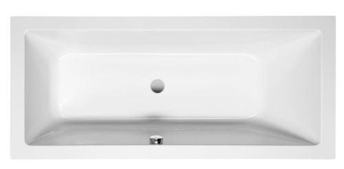 Aqualine NISA obdélníková vana 170x75x42cm, bílá