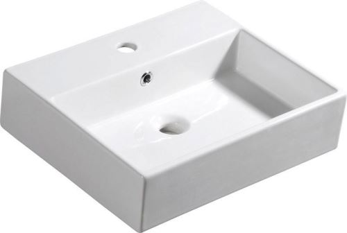 Isvea PURITY keramické umyvadlo 50x42cm