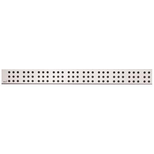 ALCAPLAST CUBE-550L Rošt pro liniový podlahový žlab (nerez lesk)