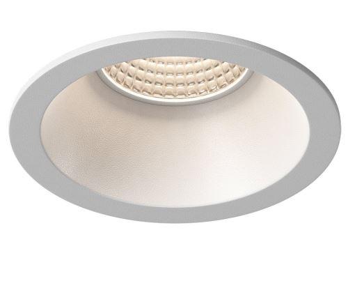 Sapho WICK podhledové hliníkové svítidlo 82 mm, GU10, max 35W, bílá mat
