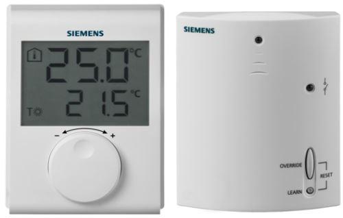 SIEMENS Prostorový termostat RDH100, bezdrátové provedení