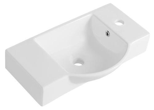 Sapho LITOS keramické umývátko 55x32 cm, bílá
