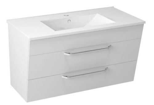 Sapho KALI umyvadlová skříňka 89x50x45cm, bílá
