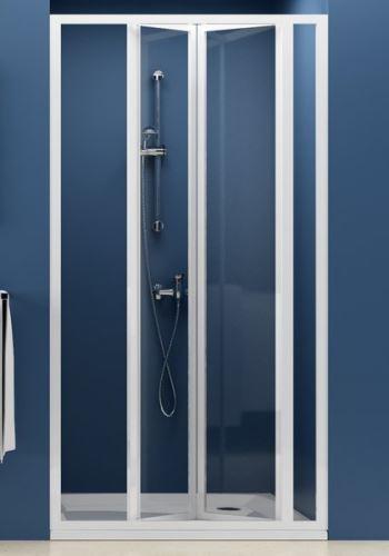 RAVAK Sprchové dveře SUPERNOVA SDZ3 80, zlamovací, trojdílné transparent (02V40100Z1)