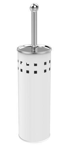 Aqualine SIMPLE LINE WC štětka válcová s otvory, bílá