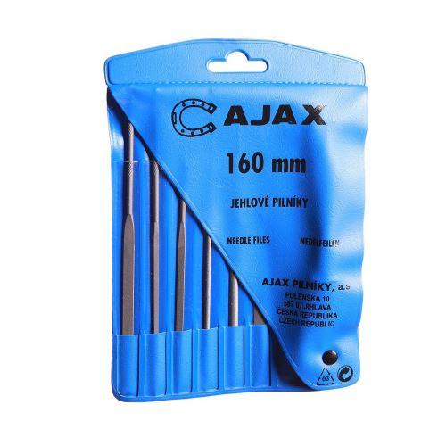 AJAX Sada jehlových pilníku s držadlem - 6 dílů (286213931626)
