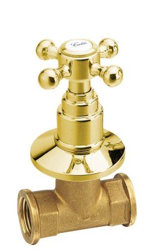 Reitano Rubinetteria ANTEA podomítkový ventil, teplá, zlato