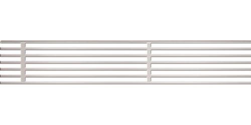 ALCAPLAST Rošt pro drenážní žlab 100 mm, pozinkovaná ocel (ADZ-R124)