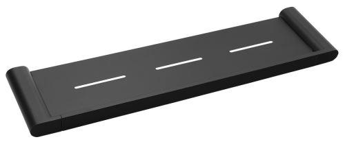 Sapho FLORI polička 508x25x127mm, černá mat