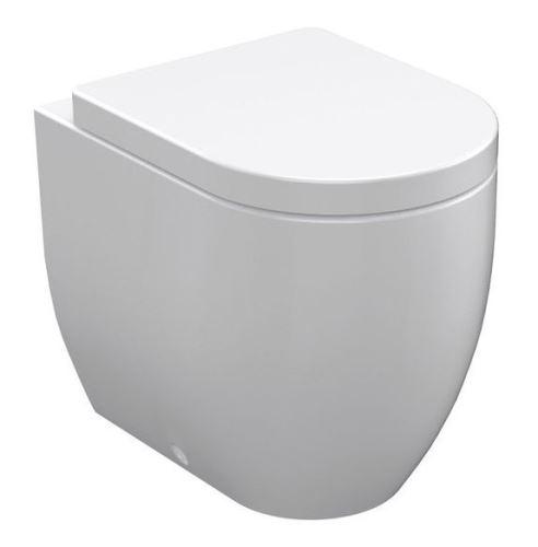 Kerasan FLO WC mísa 36x42x51,5cm, spodní/zadní odpad