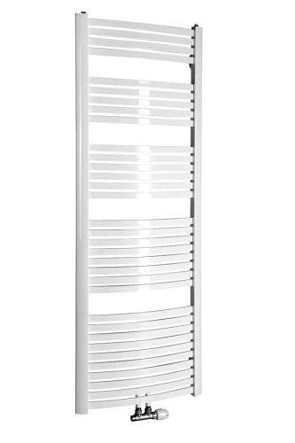 Aqualine STING Otopné těleso 650x1741 mm, středové připojení, 968 W, bílá