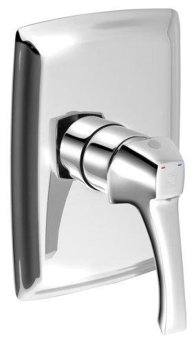 Sapho DREAMART podomítková sprchová baterie, 1 výstup, chrom