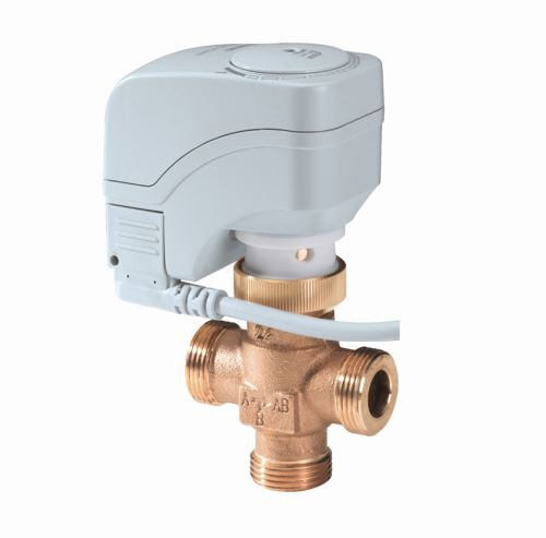 SIEMENS Třícestný regulační ventil SXP 45 DN 10 - 1kv 24V