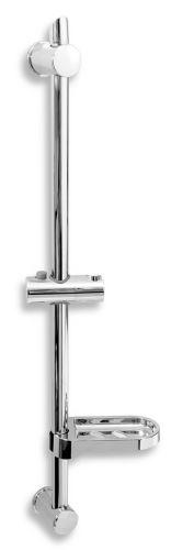NOVASERVIS Posuvný držák sprchy s nastavitelnou roztečí (RAIL601,0)