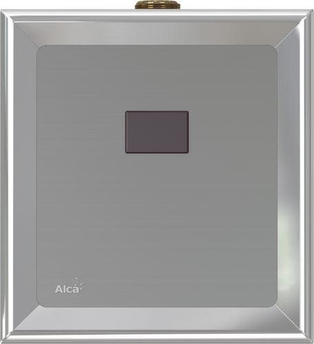 ALCAPLAST Automatický splachovač pisoáru chrom, 6V - napájení z baterie (ASP4B)