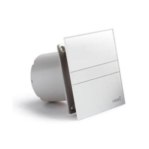 Cata E-100 GT koupelnový ventilátor axiální s časovačem, 8W, potrubí 100mm, bílá