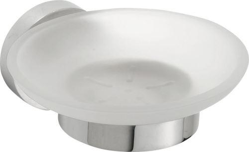 Sapho X-ROUND mýdlenka skleněná, chrom