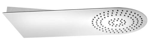 Sapho SLIM nástěnná hlavová sprcha 220x500x2,4mm, kulatá, leštěný nerez