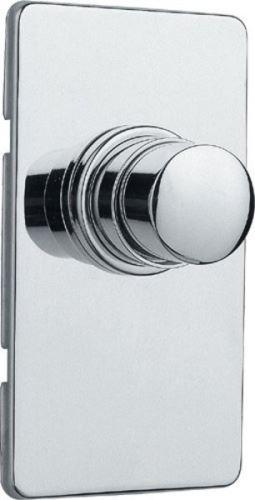 Silfra QUIK samouzavírací podomítkový WC ventil, chrom