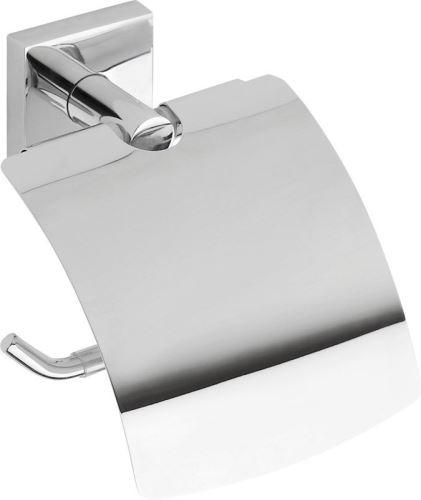 Sapho X-SQUARE držák toaletního papíru s krytem, chrom