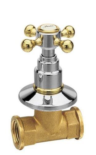 Reitano Rubinetteria ANTEA podomítkový ventil, teplá, chrom/zlato