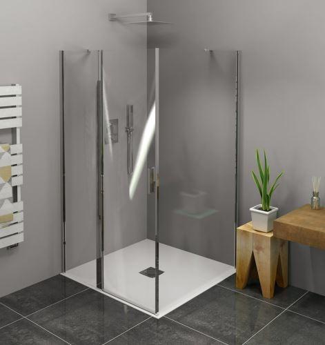 Polysan Zoom Line čtvercový sprchový kout 1000x1000mm L/P varianta
