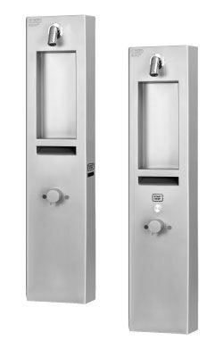 AZP BRNO Automatická povrchová sprcha na piezoltačítko, s termost.ventilem a ramínkem SP3 - 12V, 50 Hz (AUS 3P)