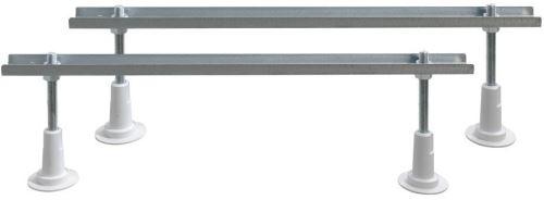 Aqualine Podpěrné nohy k vanám, délka 80 cm