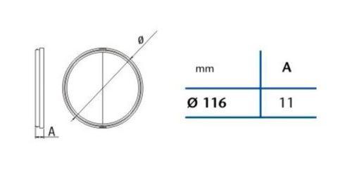 Cata Zpětná klapka 120mm