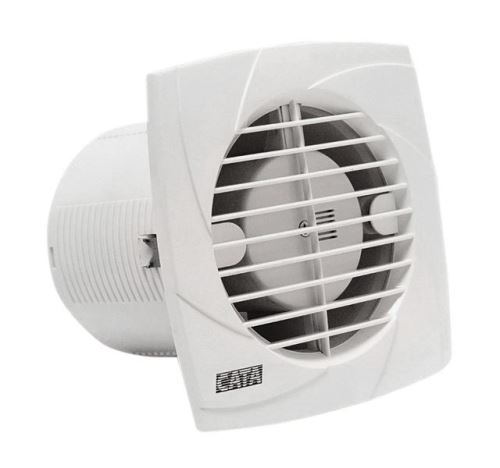 Cata B-10 PLUS T koupelnový ventilátor s časovačem, 15W, potrubí 100mm, bílá