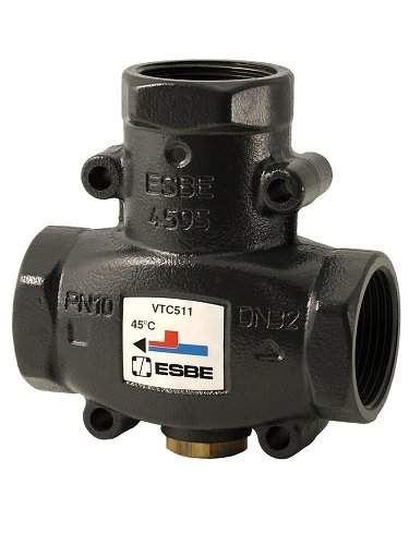 ESBE Termostatický ventil VTC511/45 °C, 1´´, DN 25 (51020100)