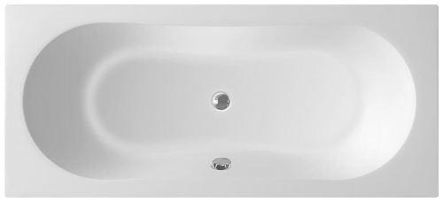 Aqualine JIZERA vana 180x80x39cm, bez nožiček, bílá
