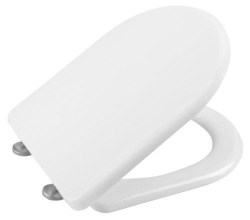 Sapho LENA WC sedátko Soft Close, antibakteriální, duroplast, bílá