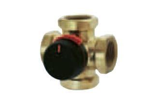 """ESBE ventil čtyřcestný směšovací VRG 141 3/4"""", Kvs 6.3 (11640300)"""