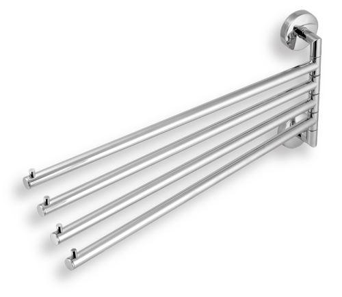 NOVASERVIS Čtyřramenný držák ručníků Metalia 11 chrom (0146,0)
