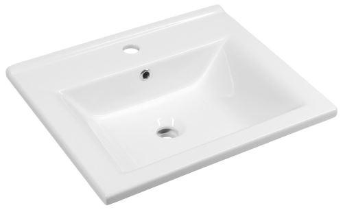 Aqualine ZUNO 55 nábytkové umyvadlo 55x45 cm