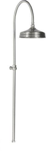 Reitano Rubinetteria ANTEA sprchový sloup k napojení na baterii, hlavová sprcha, nikl