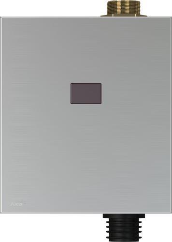 ALCAPLAST Automatický splachovač WC kov, 12V - napájení ze sítě (ASP3K)