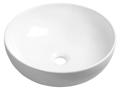 Sapho RONDANE keramické umyvadlo průměr 40x14 cm, na desku