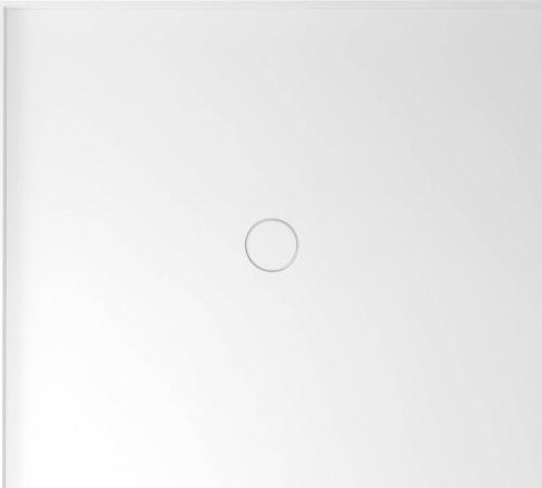 Polysan MIRAI sprchová vanička z litého mramoru, obdélník 100x90x1,8cm, levá, bílá