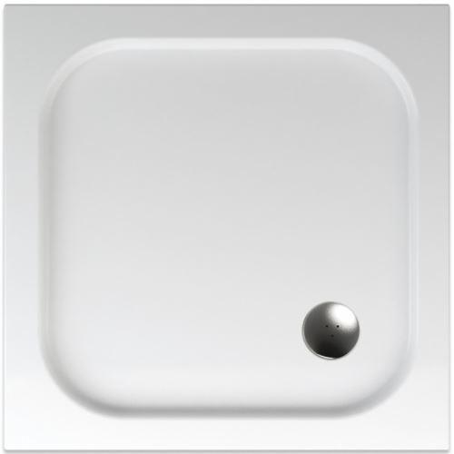 TEIKO Sprchová vanička čtvercová hladká BIANCA 80 (V134080N32T05001)
