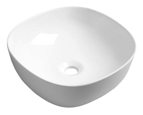 Sapho MORO keramické umyvadlo 42x14,5x42 cm, na desku