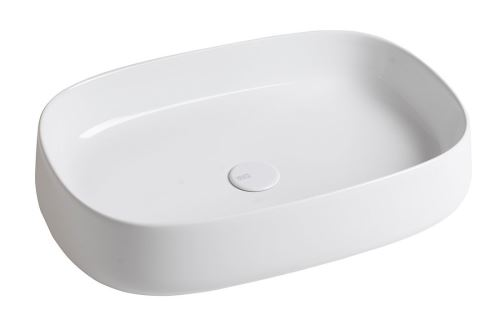 Sapho JUMPER keramické umyvadlo, 60x13x40 cm, na desku, bez přepadu