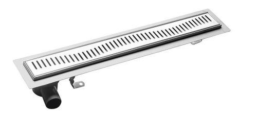 Aqualine VENTO nerezový sprchový kanálek s roštem, 960x140x92 mm