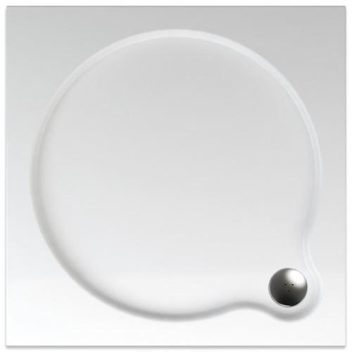 TEIKO Sprchová vanička čtvercová hladká VENUS 100 (V134100N32T01001)