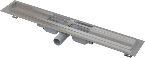 ALCAPLAST APZ101 LOW-1050 Podlahový žlab s okrajem pro perforovaný rošt