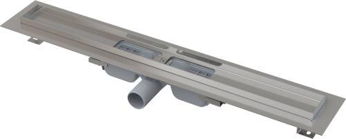 ALCAPLAST APZ101 LOW-550 Podlahový žlab s okrajem pro perforovaný rošt
